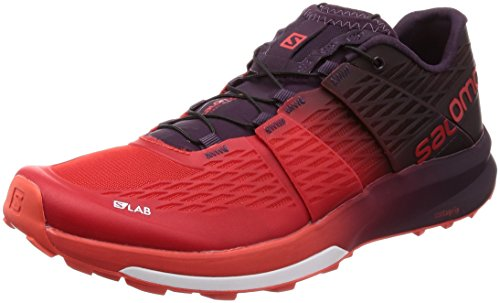 Salomon S/Lab Sense Ultra 2, Zapatillas de Senderismo Unisex Adulto, Rojo (Racing...