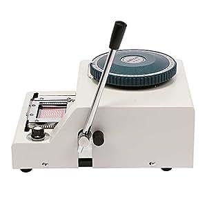 Sanvn Carte de crédit en plastique Manuel gaufrer Machine