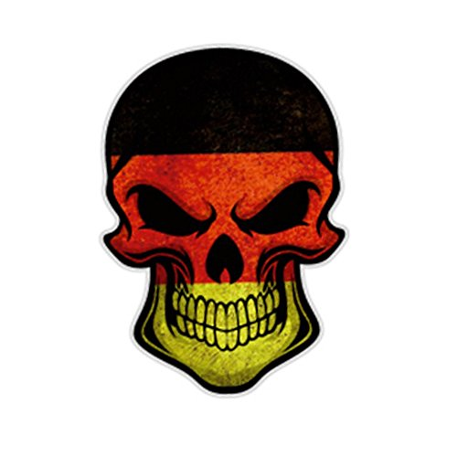 S2S Skull Scary Car Styling Decal Reflective Car & Bike...