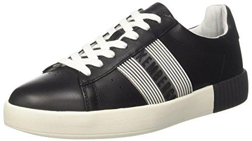 Bikkembergs Cosmos 2096, Sneaker Uomo, Nero (Black/White), 42 EU