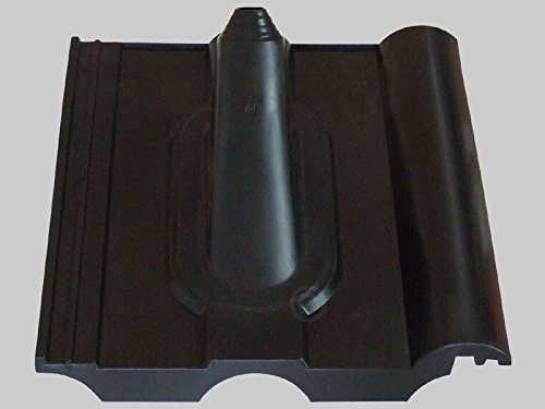 TomTrend Frankfurter Dachpfanne - schwarz