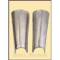 Battle-Merchant Beinschienen aus Stahl - Beinschützer - Beine - LARP - Mittelalter