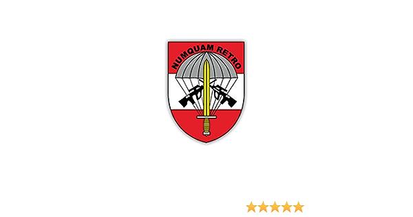 Aufkleber Sticker Jagdkommando Österreich Spezialeinheit Numquam 7x5cm A1727 Auto