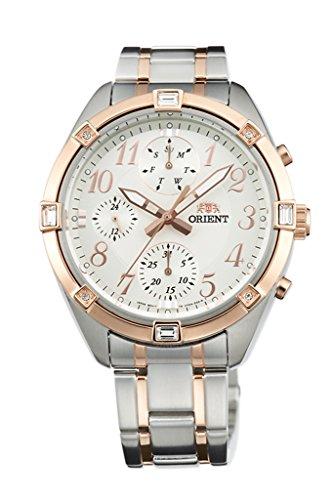 Orient Modische Chronograph Quarz Damen-Armbanduhr uy04002W