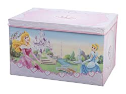Delta Tb84667ps Toy Box - Canvas - Zusammenfaltbar - Princess