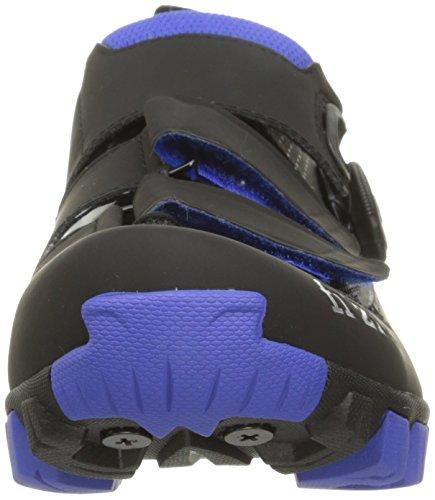 Fizik M6B MTB Schuhe Herren anthrazite/blau 2017 Mountainbike-Schuhe anthrazite/blau