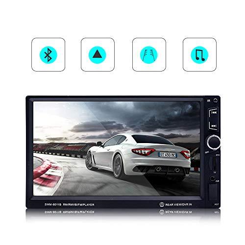 Unbekannt Auto MP5-Player HD 7-Zoll-Bluetooth-Anruf Radio SD-Karte Stereo GPS Navigator Nach der Rückfahrkamera Umkehrpriorität