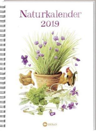 Naturkalender 2019 - Marjolein Bastin - Taschenkalender - A5-Format - 14,8 cm x 21 cm - Spiralbindung - Kalender mit Platz für Eintragungen