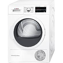 Bosch Serie 6 WTG85230EE Independiente Carga frontal 8kg A++ Color blanco - Secadora (Independiente, Bomba de calor, A++, Color blanco, B)