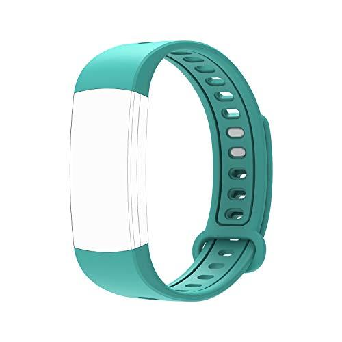 moreFit Pure Ersatzband, Verstellbarer Ersatzriemen Smart Wristbands (Grün)