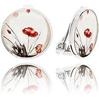 Frau Weiß Clips Ohrringe Weiblichen Geschenk für Ihre