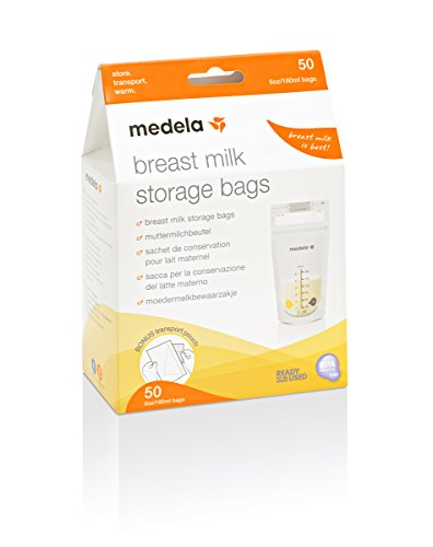 Medela 008.0411 - Bolsas para el almacenamiento de leche materna, pack de...