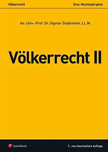 Völkerrecht II (Orac Rechtsskripten)