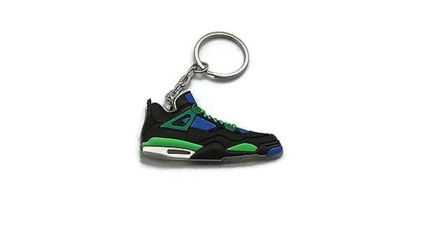 5da834873e1 ... Jordan IV4 DB Doernbecher Superman LS Sneakers Shoes Keychain Keyring  AJ 23 Retro by DarrellsWorld Of ...