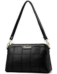 ef6f19697239b Umhängetasche Handtasche Schulter Messenger Bag Mom Tasche Weibliche Tasche  Mode Joker Cross Style Square…