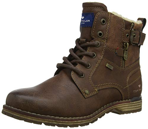 TOM TAILOR Jungen 5871106 Klassische Stiefel, Braun (Rust 00066), 31 EU