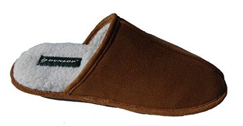 Dunlop Jamie, Pantofole uomo marrone