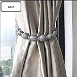 do4u 1 Stück Earle Perlen Seil Vorhang Raffhalter Vorhang Vorhanghalter