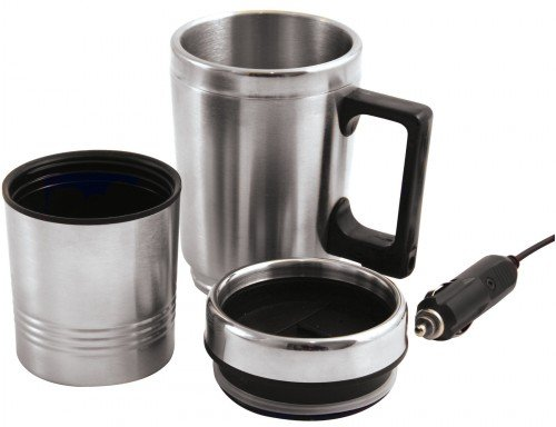 Price comparison product image Brookstone BR390855 Heated Electric Mug