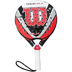 Wilson Tour BLX - Pala de pádel, multicolor, 38 mm