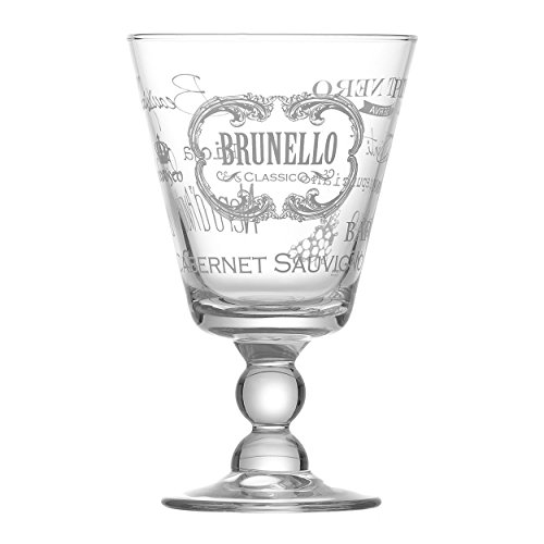 Ritzenhoff & Breker Flirt Rotweinkelch Brunello, Weinglas, Weinkelch, Wein, Glas, Kelch, 315 ml,...