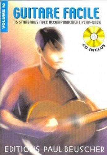 Partition : Guitare facile vol.2 + CD