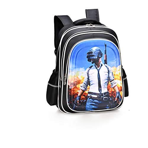 Kinder Schultasche - Grundschule Kinder Schultasche Junge Wasserdichter Rucksack Blau Klein 30 * 17 * 39 (Jordan Retro 4 Große Kinder)