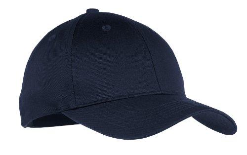 Port & Company® - Youth Six-Panel Twill Cap. YCP80 Navy OSFA - Navy Twill Cap