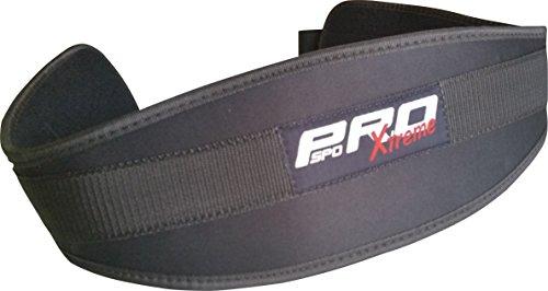 PROSPO Gewicht heben Gym Rückenstütze Gürtel Krafttraining Schmerz Breite unten Lendenwirbelstütze, Einheitsgröße