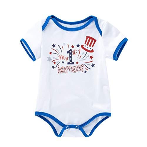 Liusdh-baby boy Romper Jumpsuit Baby Jungen (0-24 Monate) Spieler weiß weiß 73 (Outfits Hot Boy)