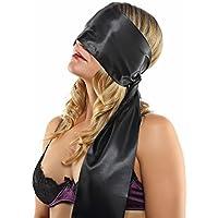 Deluxe PREMIUM blindfold and shackle Schattenspiel, including Bondage Guide