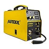 AUTOOL MIG Poste à Souder 250Amp Inverter, AC 220V Machine de Soudage électrique Portable