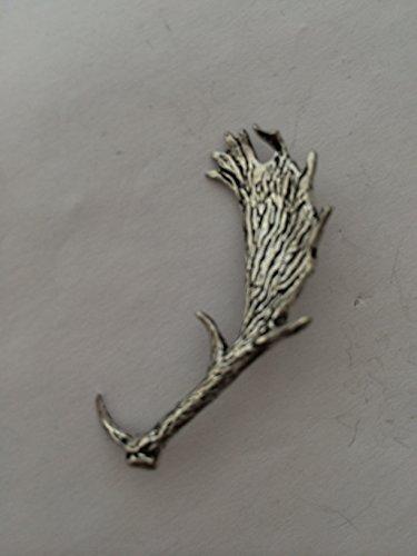 A64Damwild Antler Pin Badge feines englisches Zinn Pin Badge mit einem prideindetails Geschenk-Paket