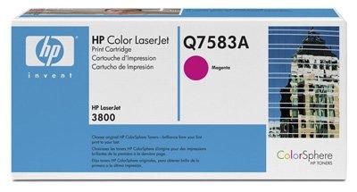 Hewlett Packard -HP- Color Laserjet CP3505N (Q7583A) original Toner-Kartusche - Rot /...