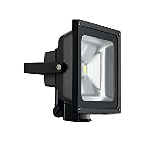 BG LDFLP50W-01 Guardian Projecteur LED 2800 K Détecteur infrarouge Noir 50 W