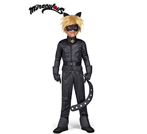 Cat Noir Kostüm Kinder - Generique - Cat Noir Miraculous Kinderkostüm