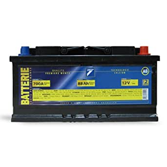 Batterie 12V 88AH 700A (EN) : Auto7