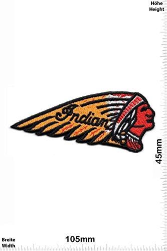 Patch - Indian Motorbike - Motorcycle- Motorrad - Motorbike - Motorsport - Motorcycles - Racing Team - Biker -Patches - Aufnäher Embleme Bügelbild Aufbügler