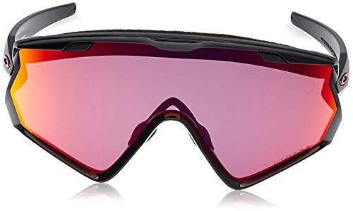 OAKLEY Wind Jacket 2.0 OO9418 Gafas de sol para Hombre, Negro/Brillo
