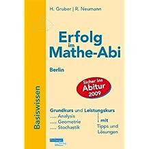 Erfolg im Mathe-Abi 2009 Lernpaket RheinlandPfalz: Übungsbuch Basiswissen + Lernkarten