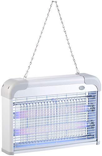 Lunartec Fliegenvernichter: UV-Insektenvernichter mit 2 austauschbaren UV-Röhren, 2.000 V, 20 Watt (UV-Licht-Insektenvernichter)