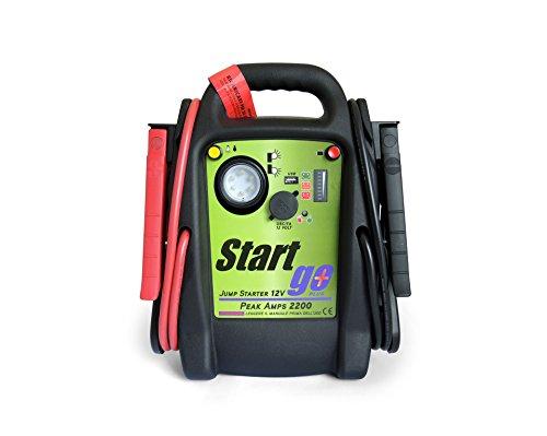 Intec SG2200 Start Go Plus, avviatore di emergenza per batterie di auto da 20 Ah e 2.200 ampere di picco