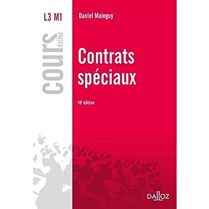 Contrats spéciaux - 10e éd.