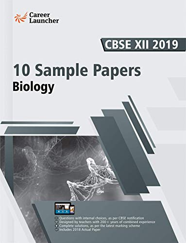 CBSE Class XII 2019: 10 Sample Papers - Biology (English Edition)
