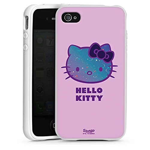 DeinDesign Apple iPhone 4s Silikon Hülle Case Schutzhülle Hello Kitty Merchandise Fanartikel Universe