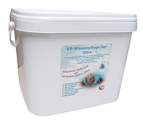 KP-Wasserpflegeset Ultra Wasseraufbereitung Desinfektion für Pool und Planschbecken (ab 15 m3 Wasserinhalt)