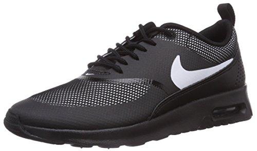 Nike Air Max Thea Damen Laufschuhe Schwarz (Black/White 017)