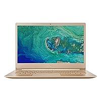 Acer Swift 5 SF514-52TP-82AD Laptop NX.H0CEM.003 - Intel Core i7-8550U, 14-Inch FHD, 512GB SSD, 16GB, English-Arabic Keyboard, Windows 10 Pro, Gold