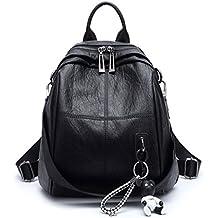 DEERWORD mujer Bolsos mochila Bolsos bandolera Carteras de mano Mochila escolar Bolsa para portátil Cuero