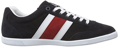 Tommy Hilfiger Sm - D2285enzel 1b, Baskets Basses homme Multicolore - Mehrfarbig (MIDNIGHT 403)